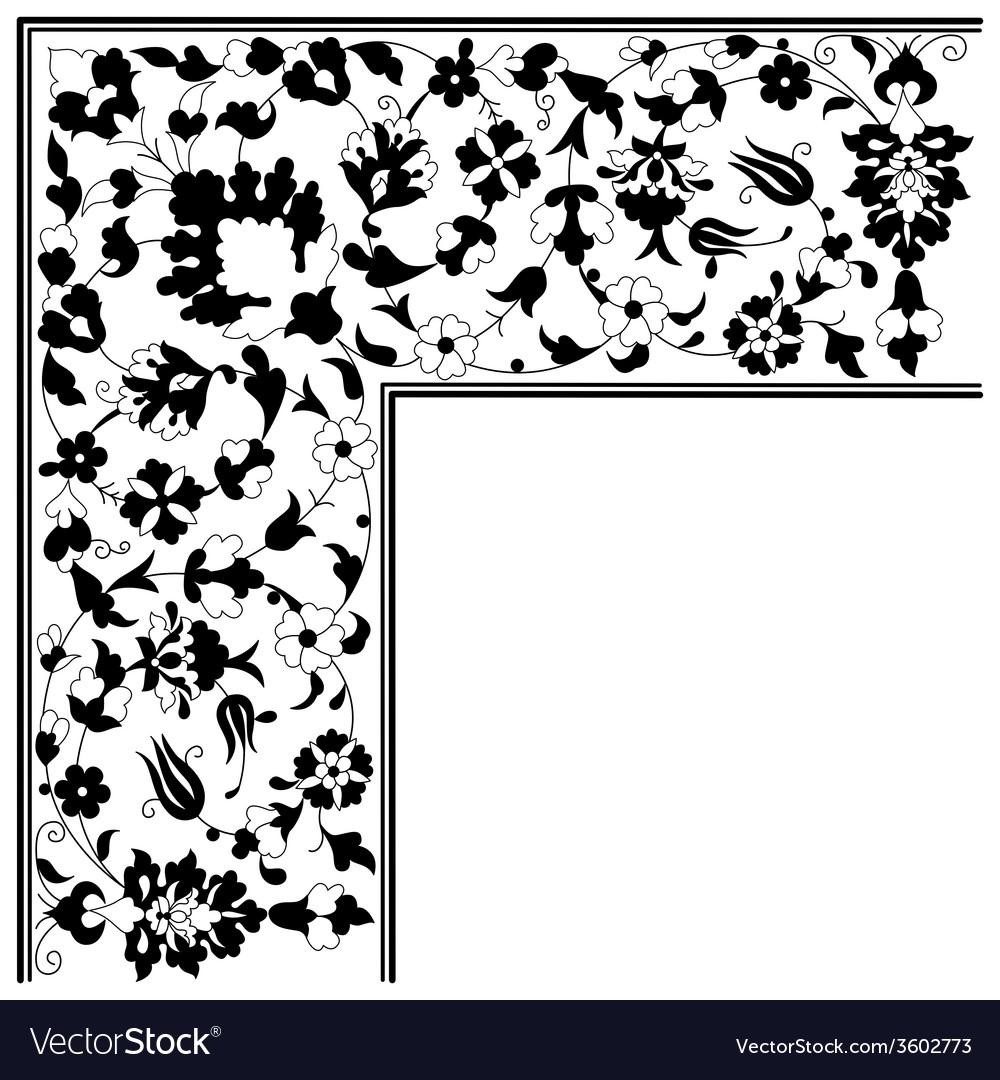 Artistic ottoman pattern series twenty five vector   Price: 1 Credit (USD $1)