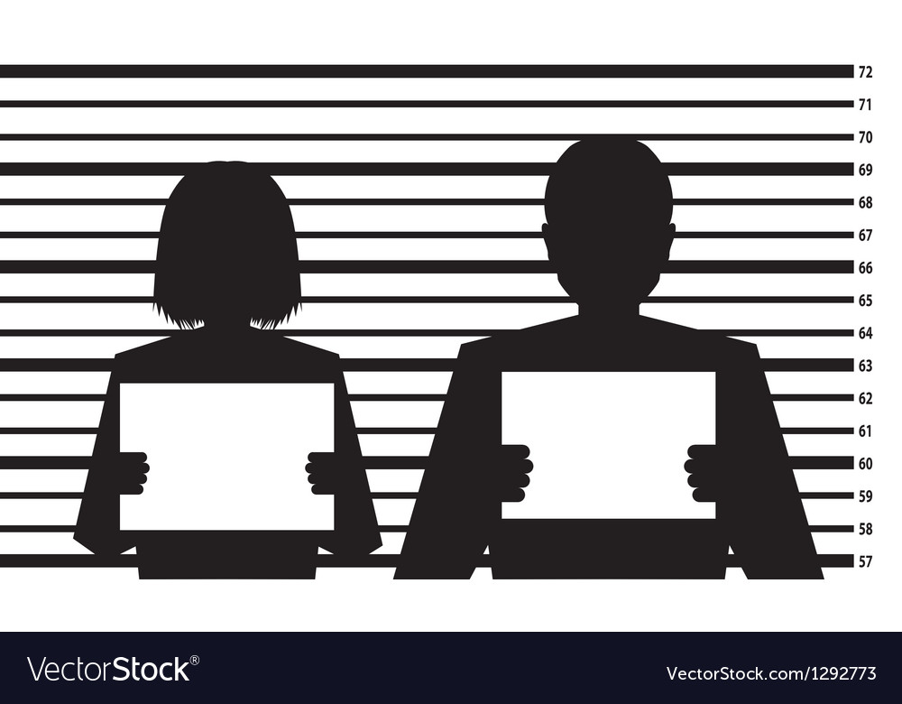 Criminal record vector | Price: 1 Credit (USD $1)