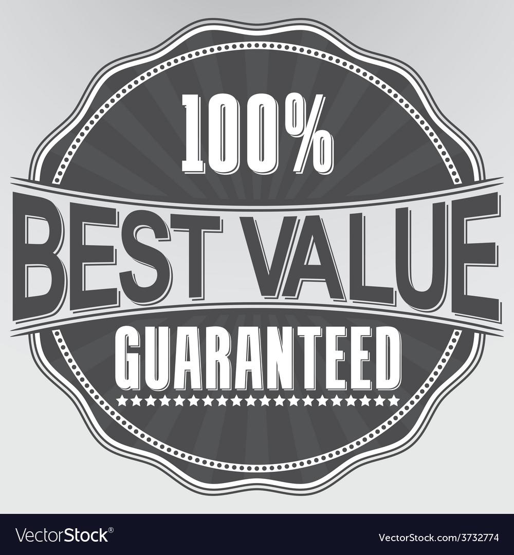 Best value guaranteed retro label vector | Price: 1 Credit (USD $1)