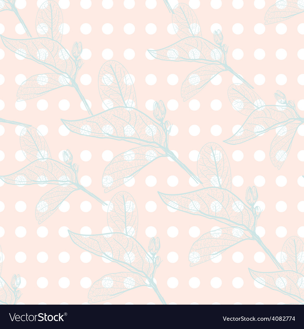 Leaves contours on black background floral vector | Price: 1 Credit (USD $1)