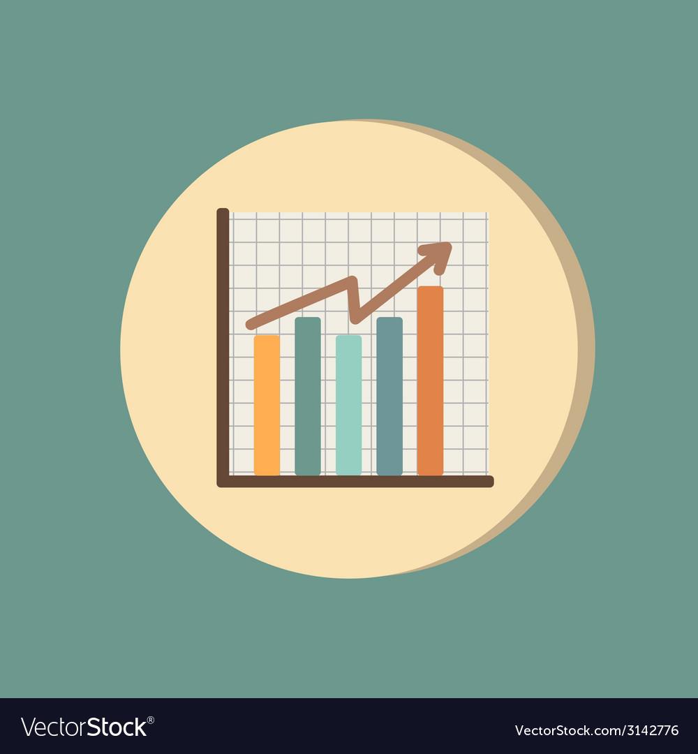 Chart diagram figure vector | Price: 1 Credit (USD $1)