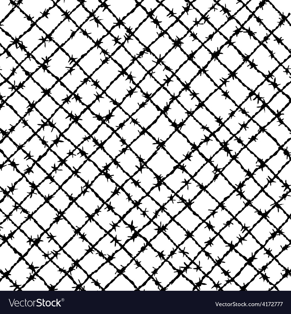 Barbed wire woven vector | Price: 1 Credit (USD $1)