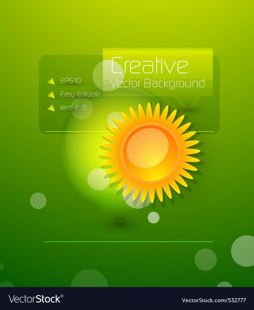 Creative background vector | Price: 1 Credit (USD $1)