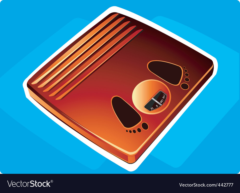 Weighing scale vector | Price: 1 Credit (USD $1)