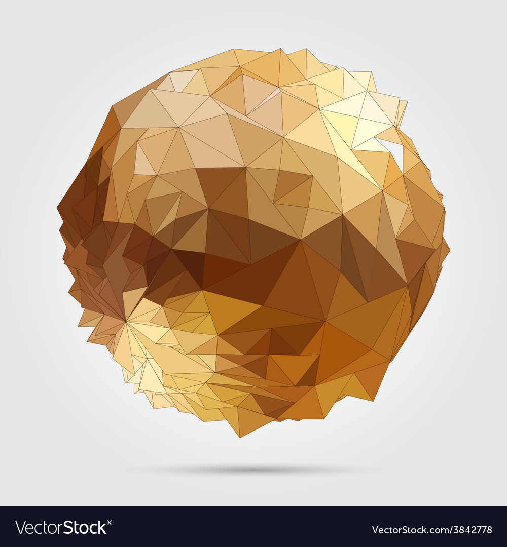 Abstract 3d geometric vector | Price: 1 Credit (USD $1)