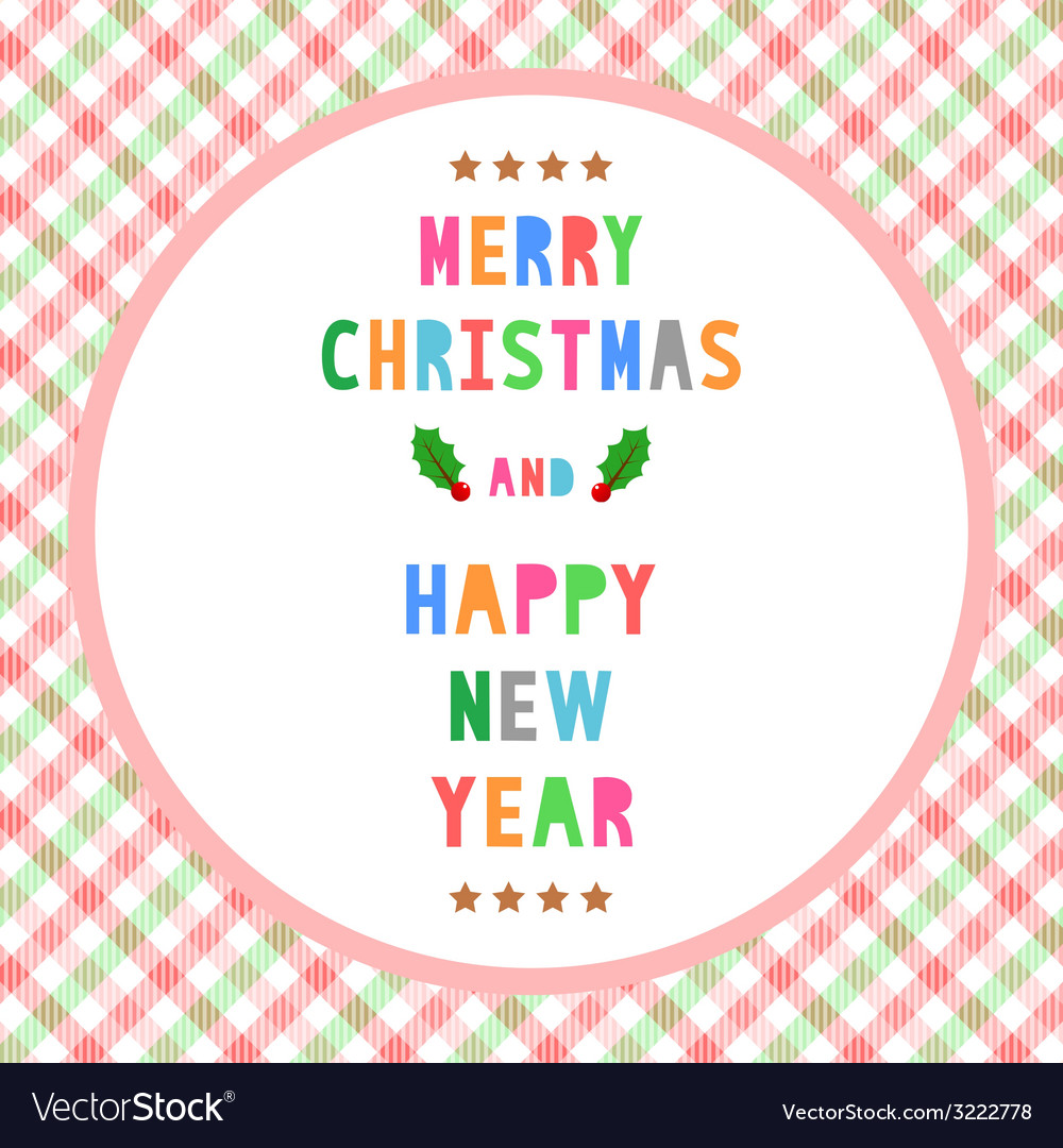 Mc and hny greeting card14 vector | Price: 1 Credit (USD $1)