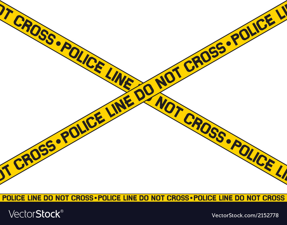 Police line - do not cross vector | Price: 1 Credit (USD $1)