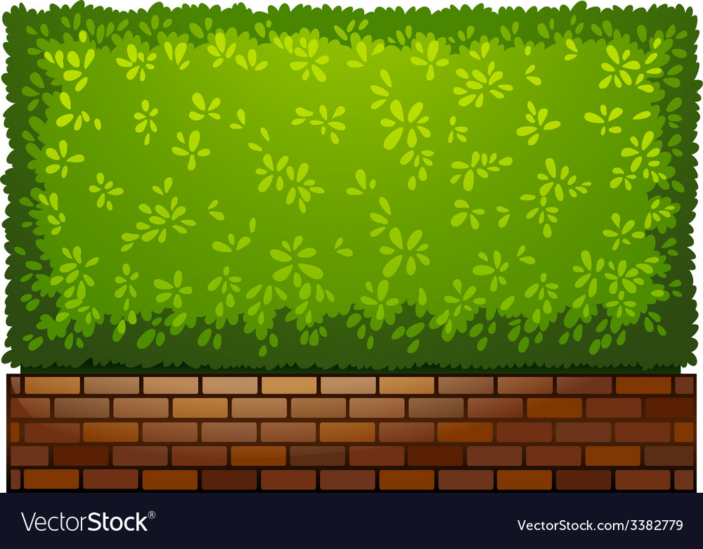 A landscaping green plant vector | Price: 1 Credit (USD $1)