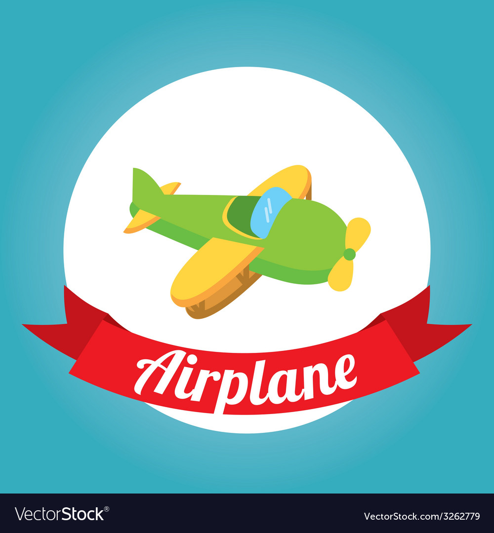 Air transport design vector | Price: 1 Credit (USD $1)