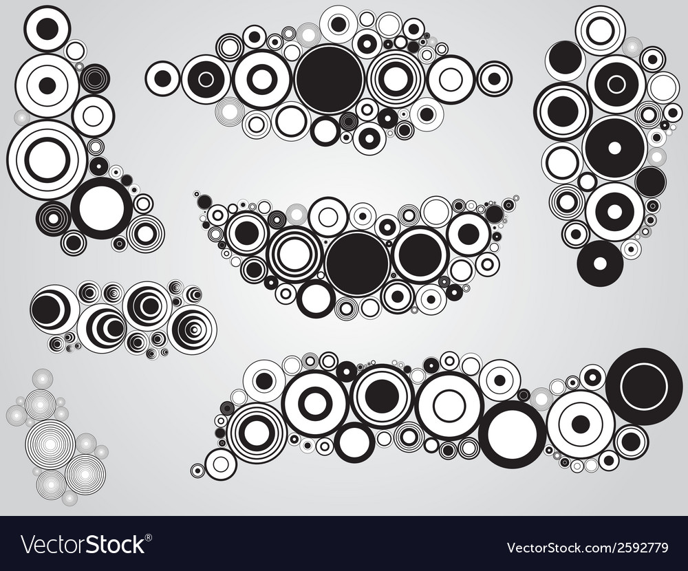 Circles vector | Price: 1 Credit (USD $1)