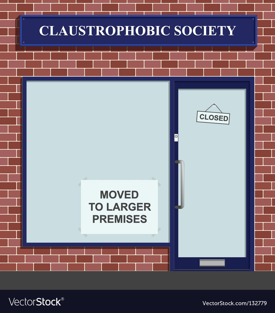 Claustrophobic society vector | Price: 1 Credit (USD $1)