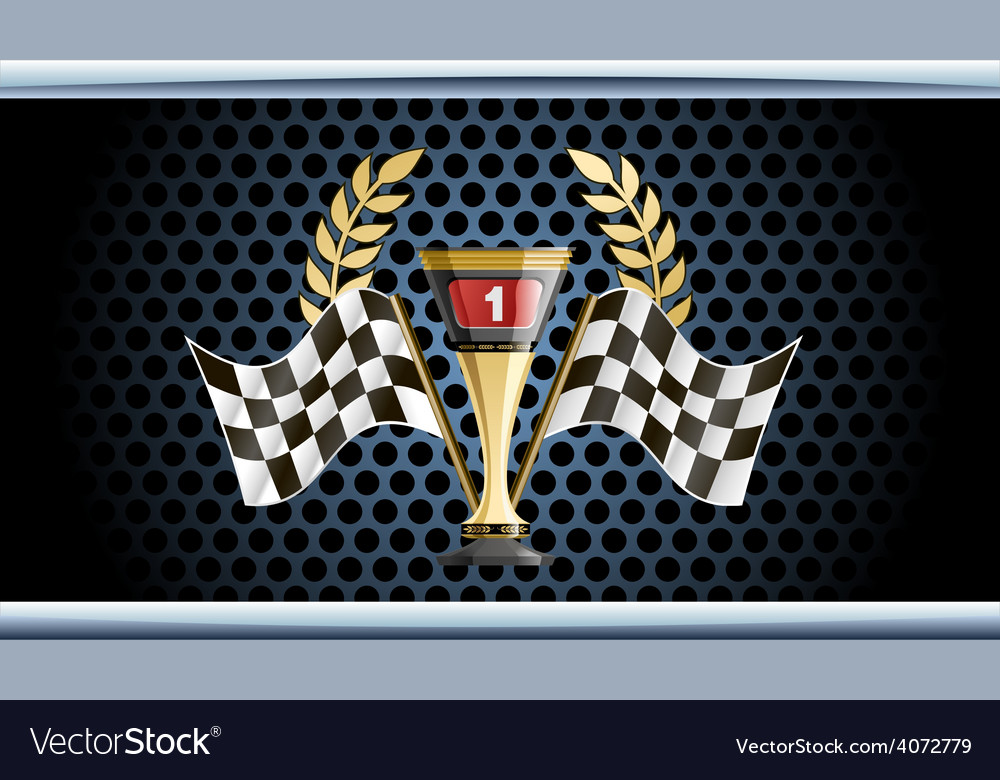 Racing prize grunge vector | Price: 1 Credit (USD $1)