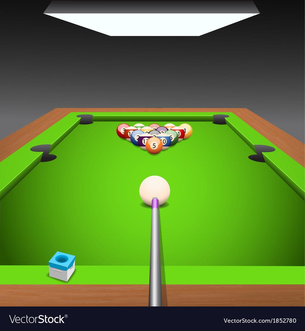 Billiard vector | Price: 1 Credit (USD $1)