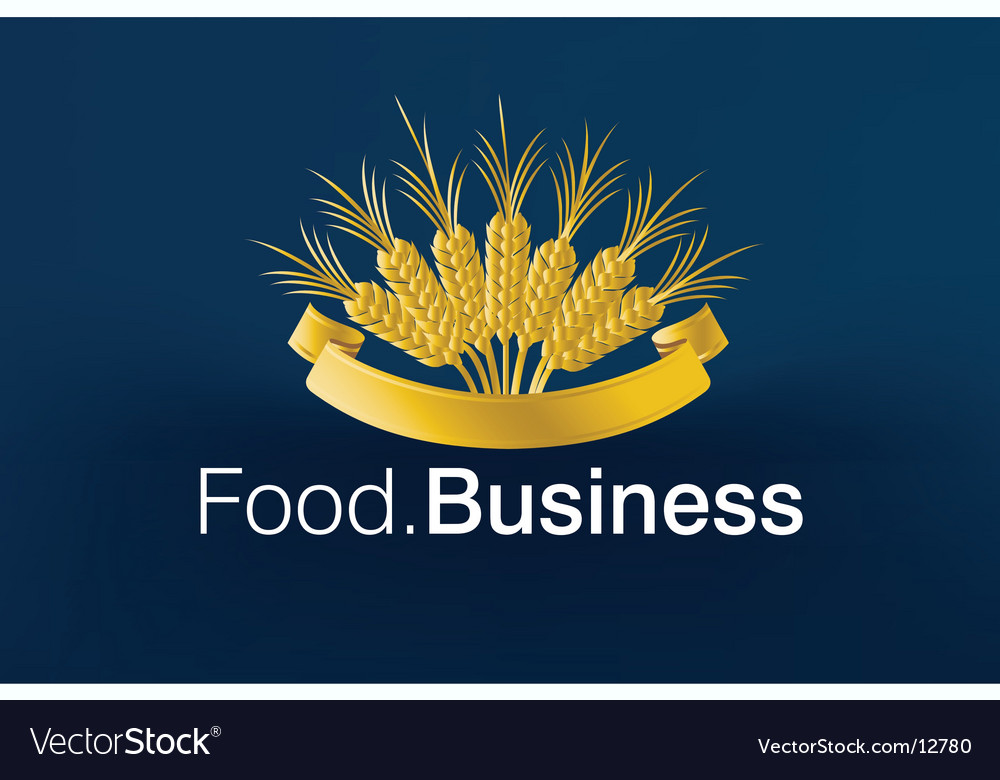 Food business logo vector | Price: 1 Credit (USD $1)