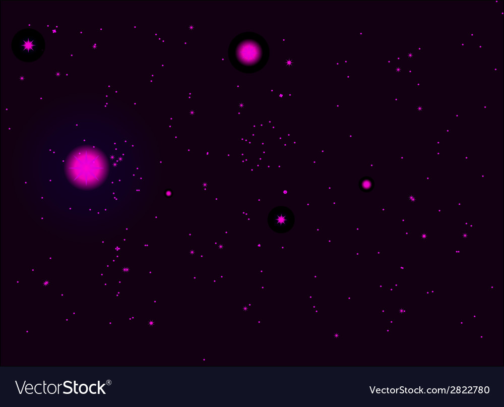 Night sky vector | Price: 1 Credit (USD $1)