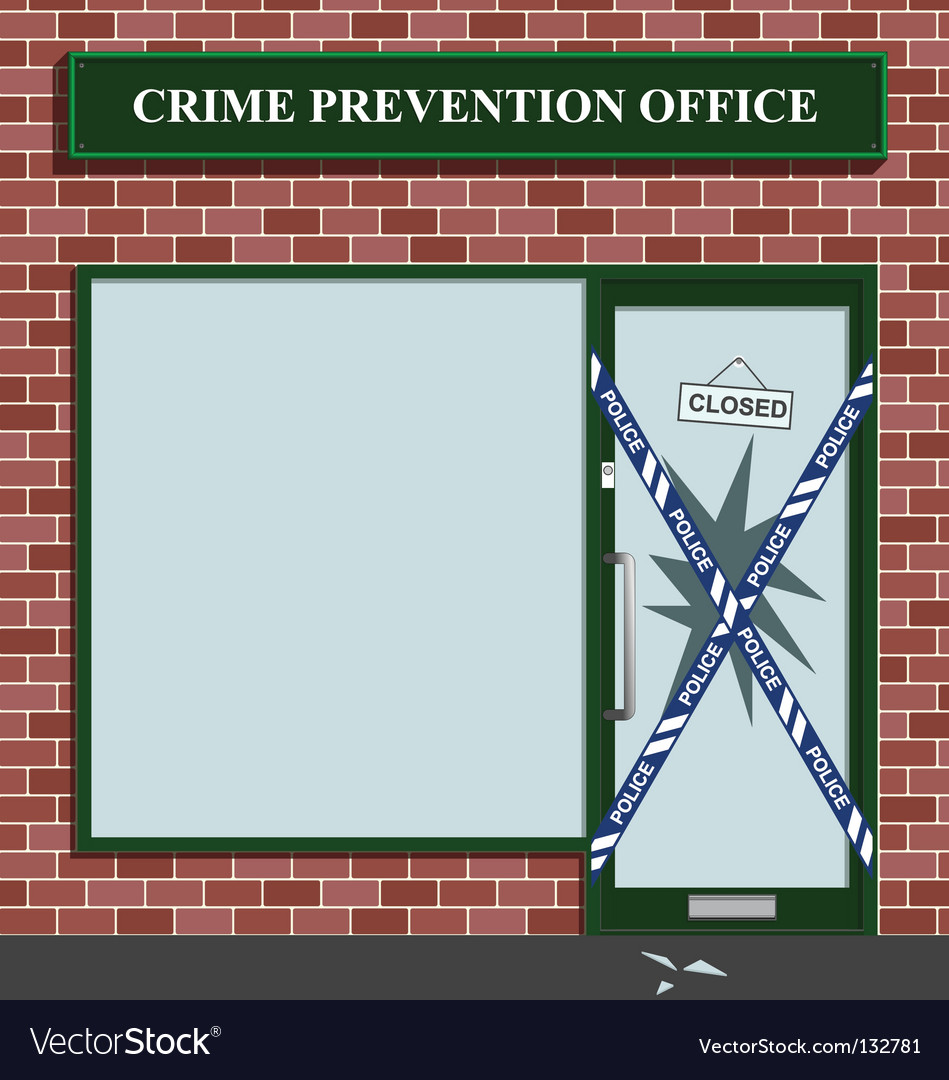 Crime prevention vector | Price: 1 Credit (USD $1)