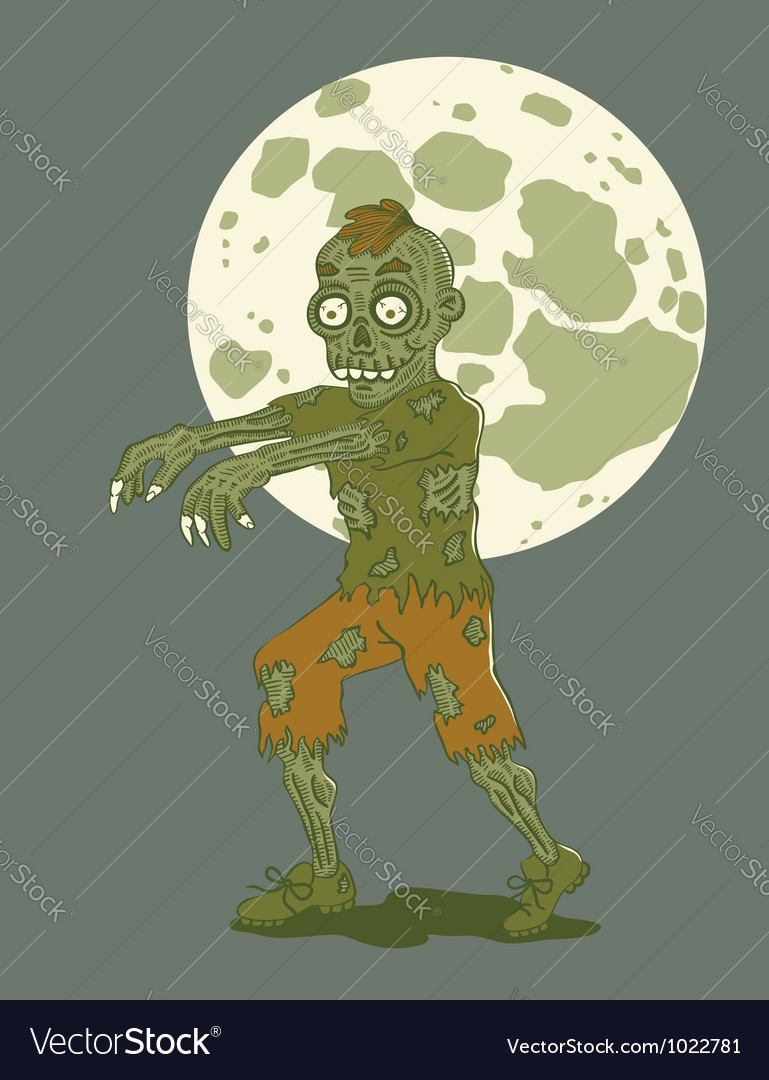Zombie vector | Price: 3 Credit (USD $3)