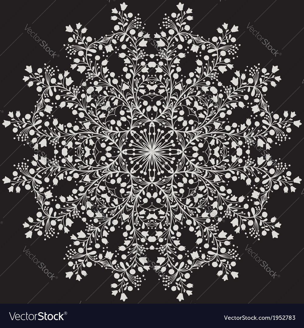Flower mandala vector | Price: 1 Credit (USD $1)