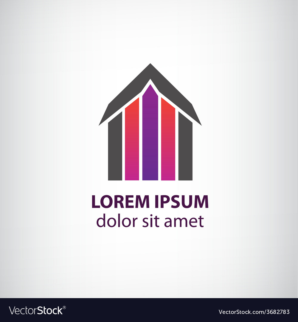 House logo for company vector | Price: 1 Credit (USD $1)