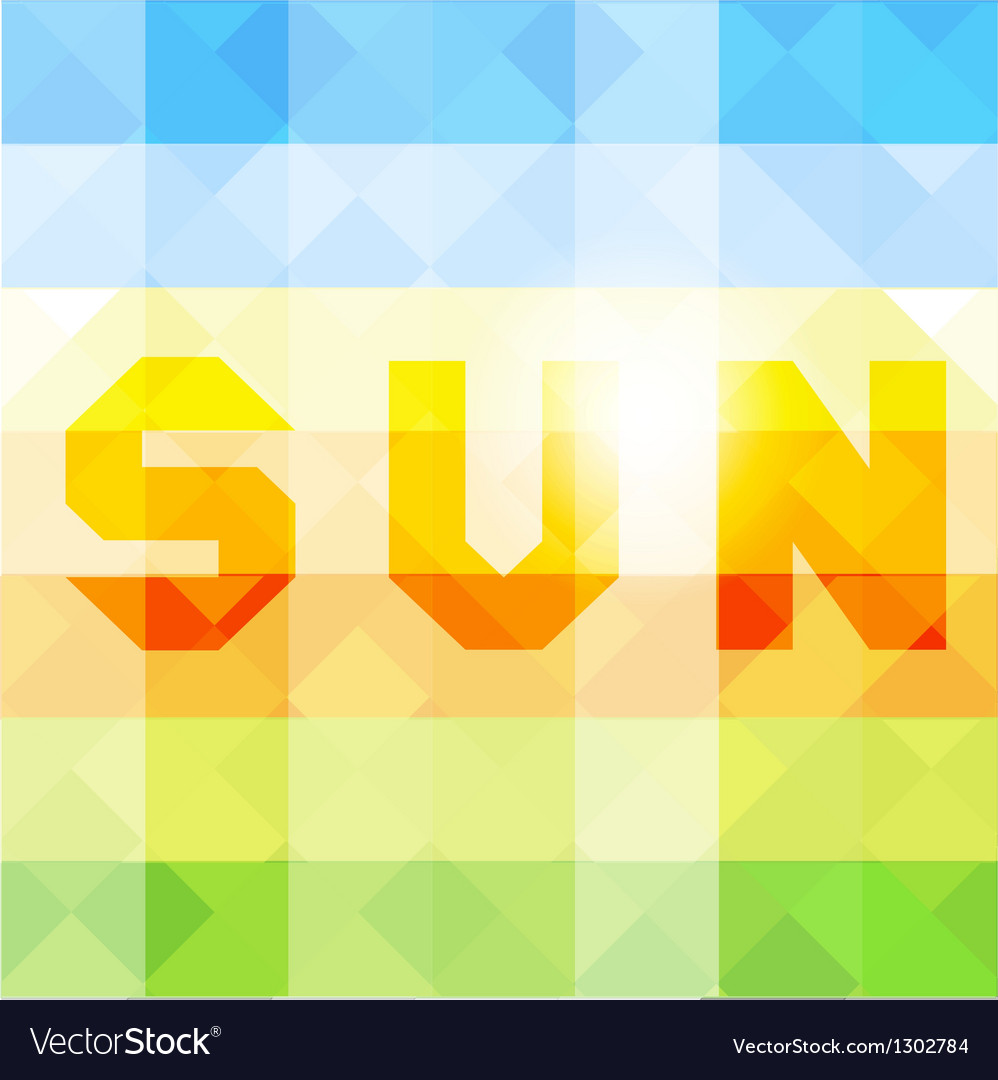 Abstract background with geometric shapes vector | Price: 1 Credit (USD $1)