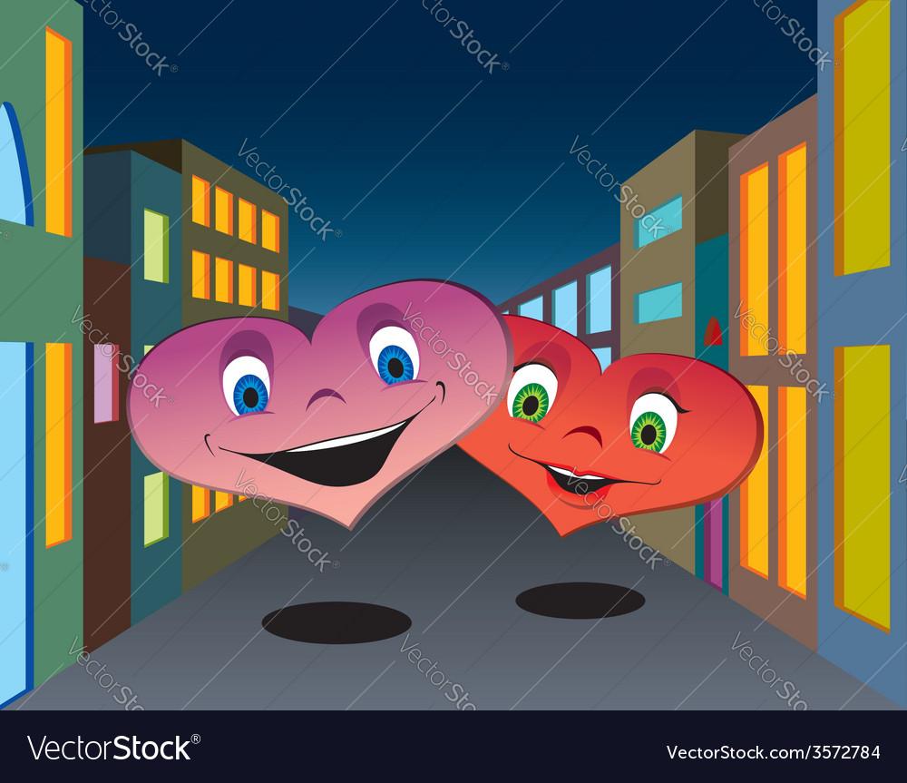 Happy hearts vector   Price: 1 Credit (USD $1)