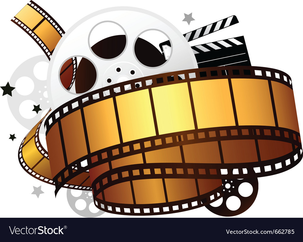 Design elements of movie theme design vector | Price: 1 Credit (USD $1)