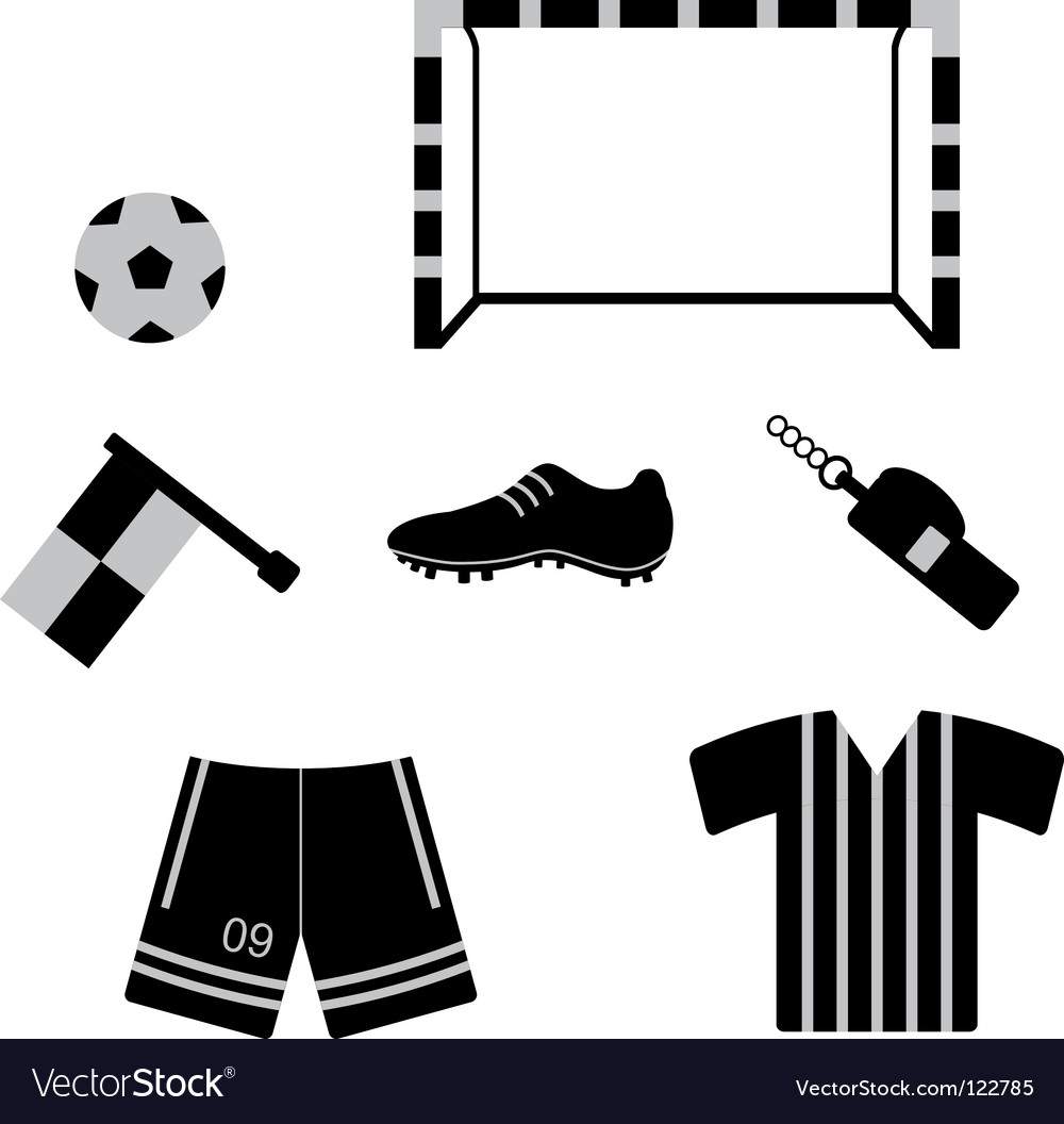 Football icons vector   Price: 1 Credit (USD $1)