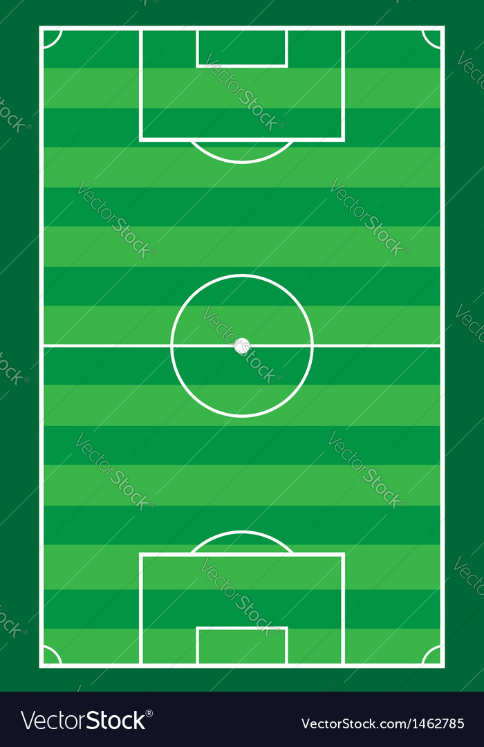 Football soccer stadiun vector | Price: 1 Credit (USD $1)