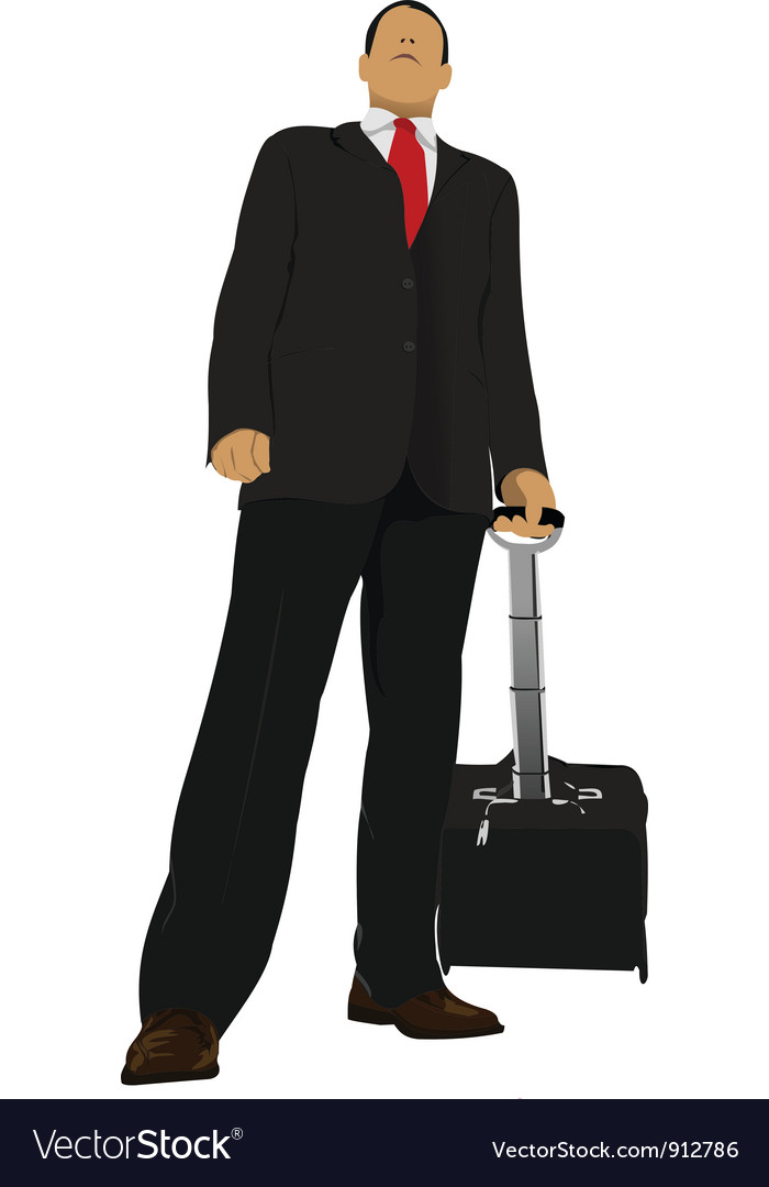 Business person vector | Price: 1 Credit (USD $1)
