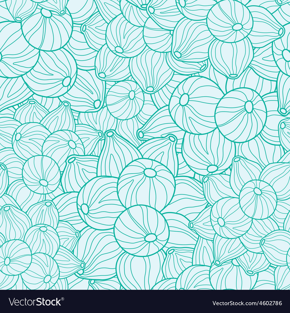 Nature inspired abstract texture seamless vector | Price: 1 Credit (USD $1)