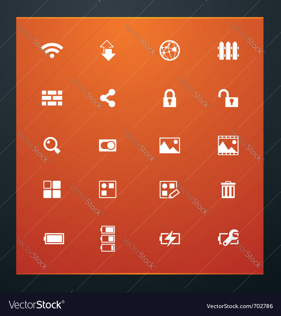 Universal glyphs 15 phone symbols 4 vector | Price: 1 Credit (USD $1)