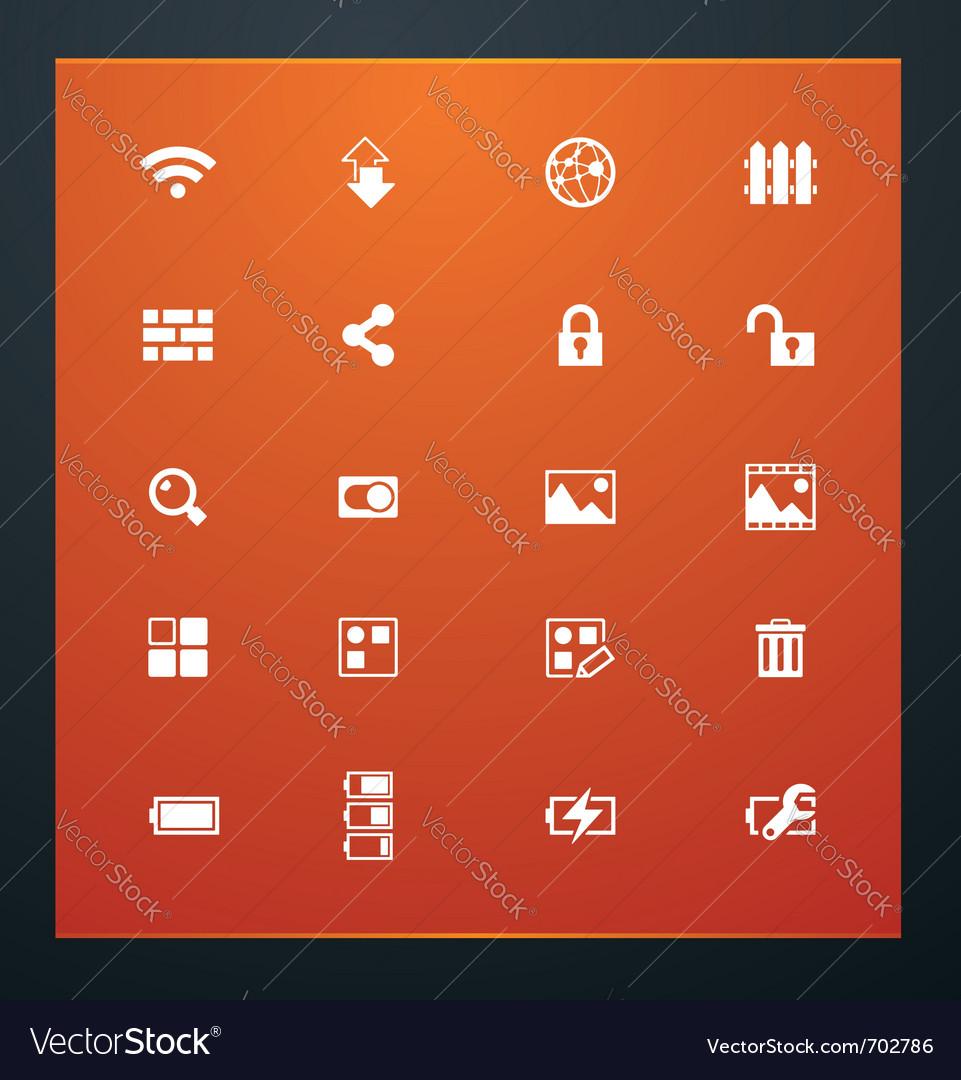 Universal glyphs 15 phone symbols 4 vector | Price: 1 Credit (USD $1)