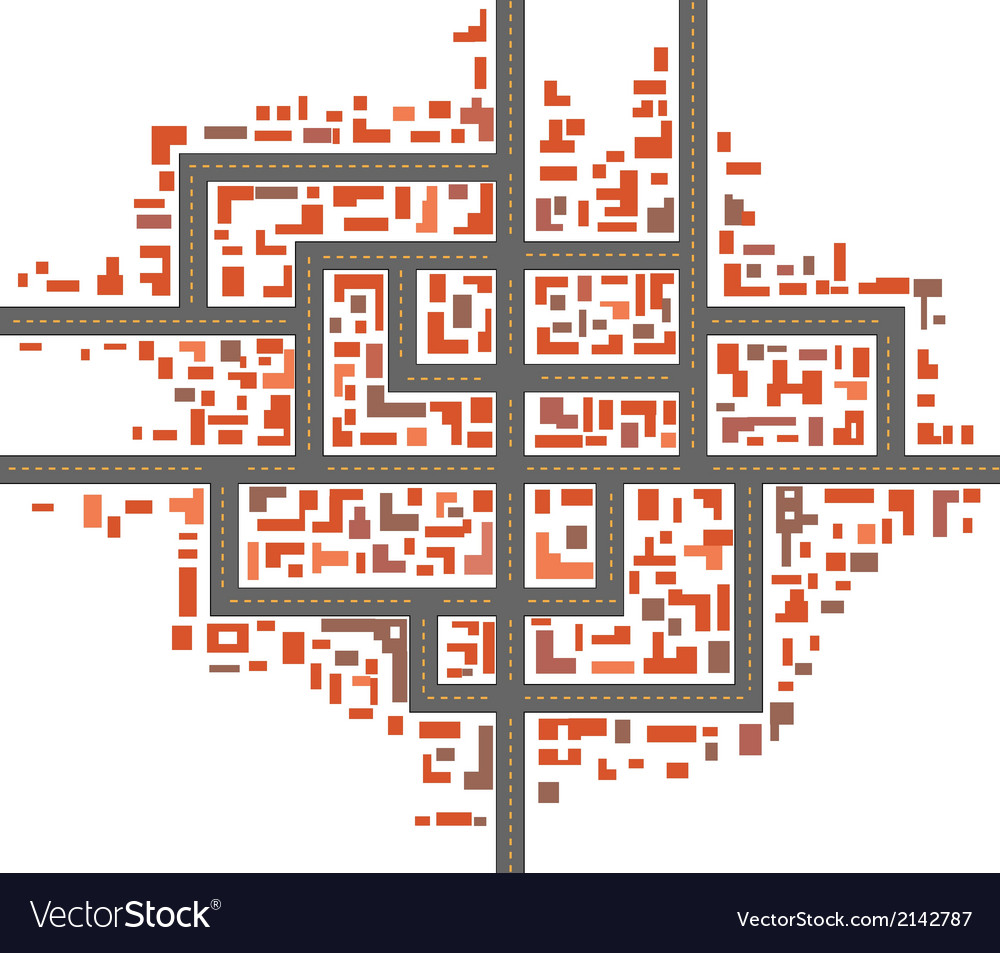 City maps vector | Price: 1 Credit (USD $1)