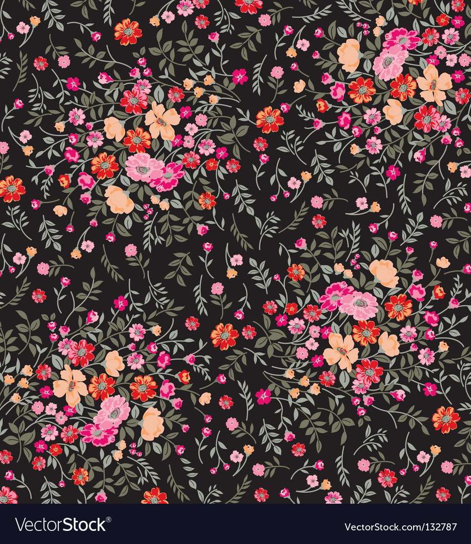 Tiny floral vector | Price: 1 Credit (USD $1)