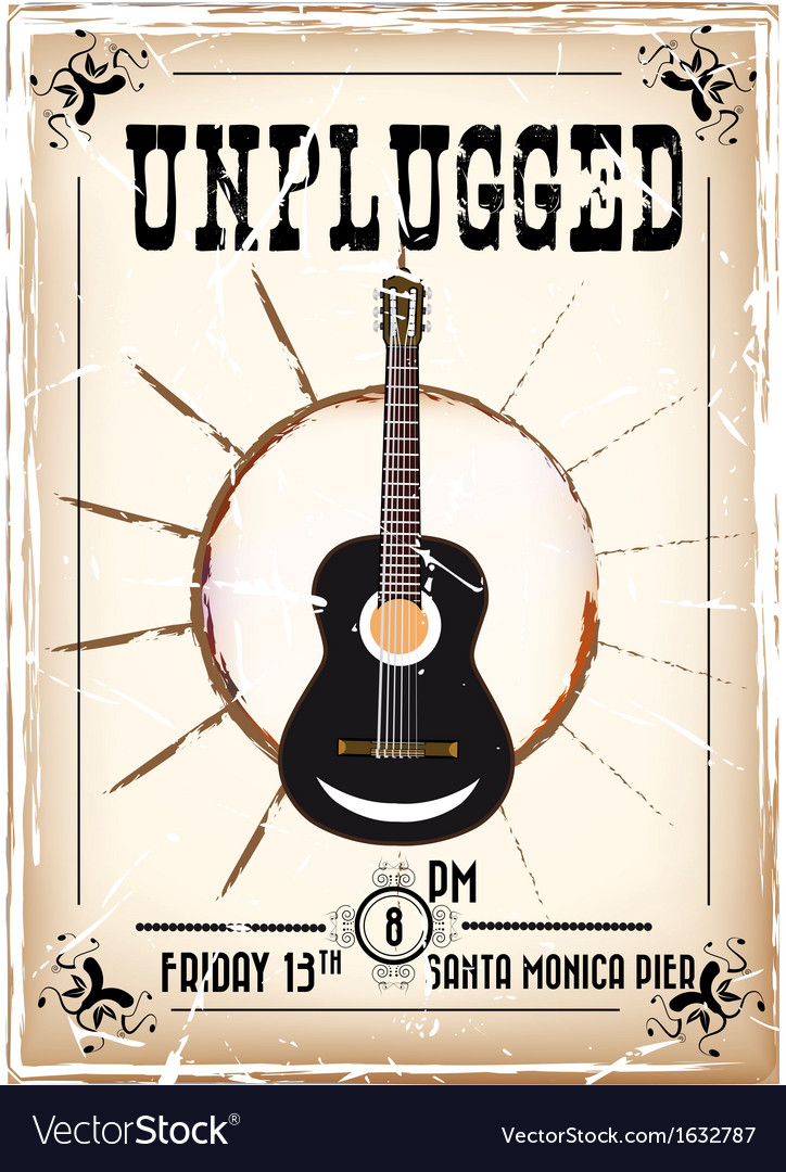 Unplugged vector | Price: 1 Credit (USD $1)