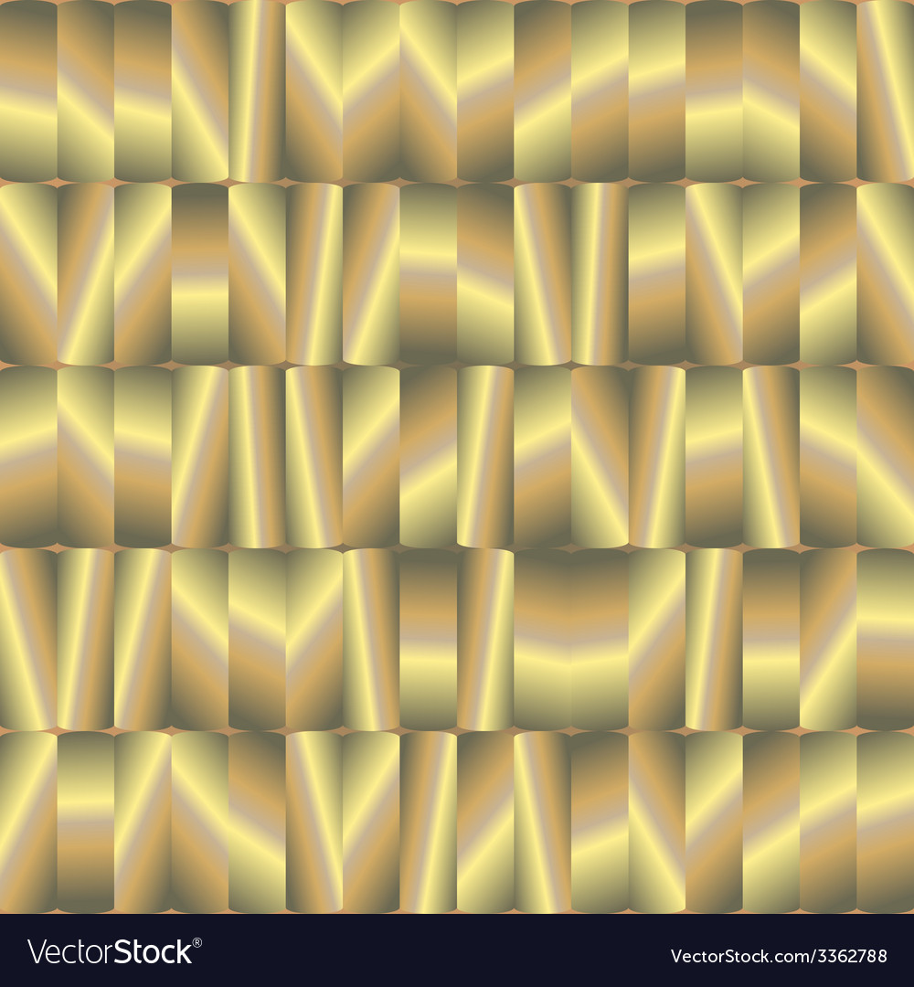 Abstract seamless pattern with gold plates vector | Price: 1 Credit (USD $1)