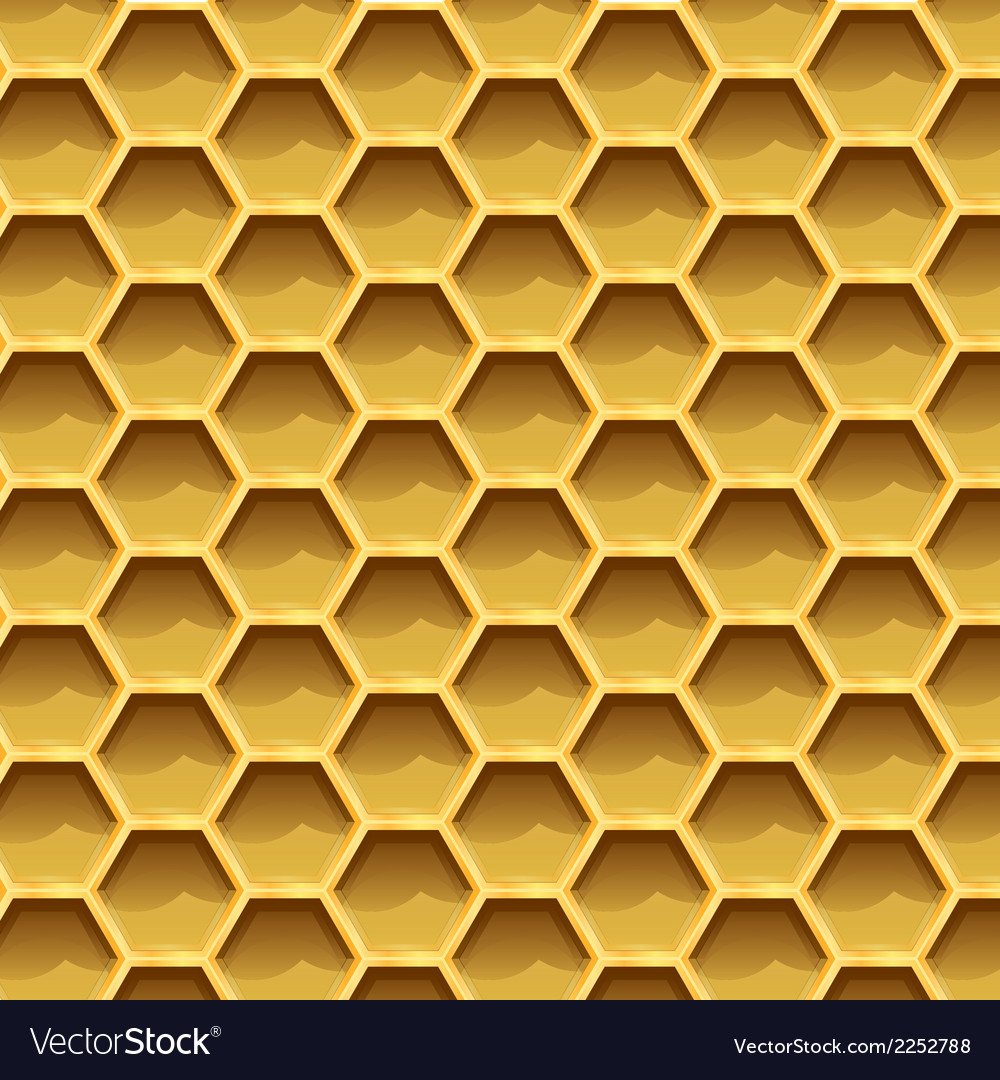 Create honeycomb background texture vector | Price: 1 Credit (USD $1)
