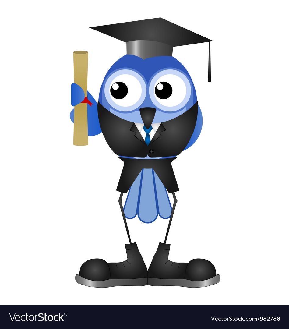 Graduation man vector | Price: 1 Credit (USD $1)