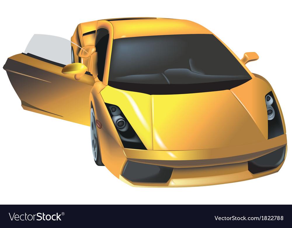 Luxury car vector | Price: 3 Credit (USD $3)