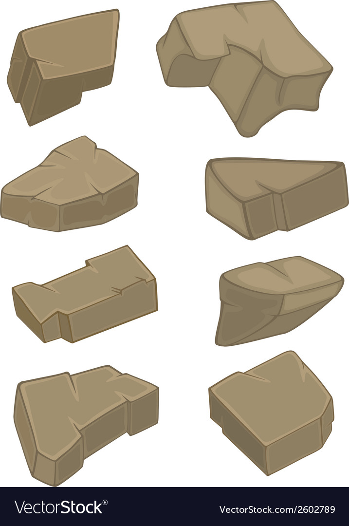 A set of stones vector | Price: 1 Credit (USD $1)