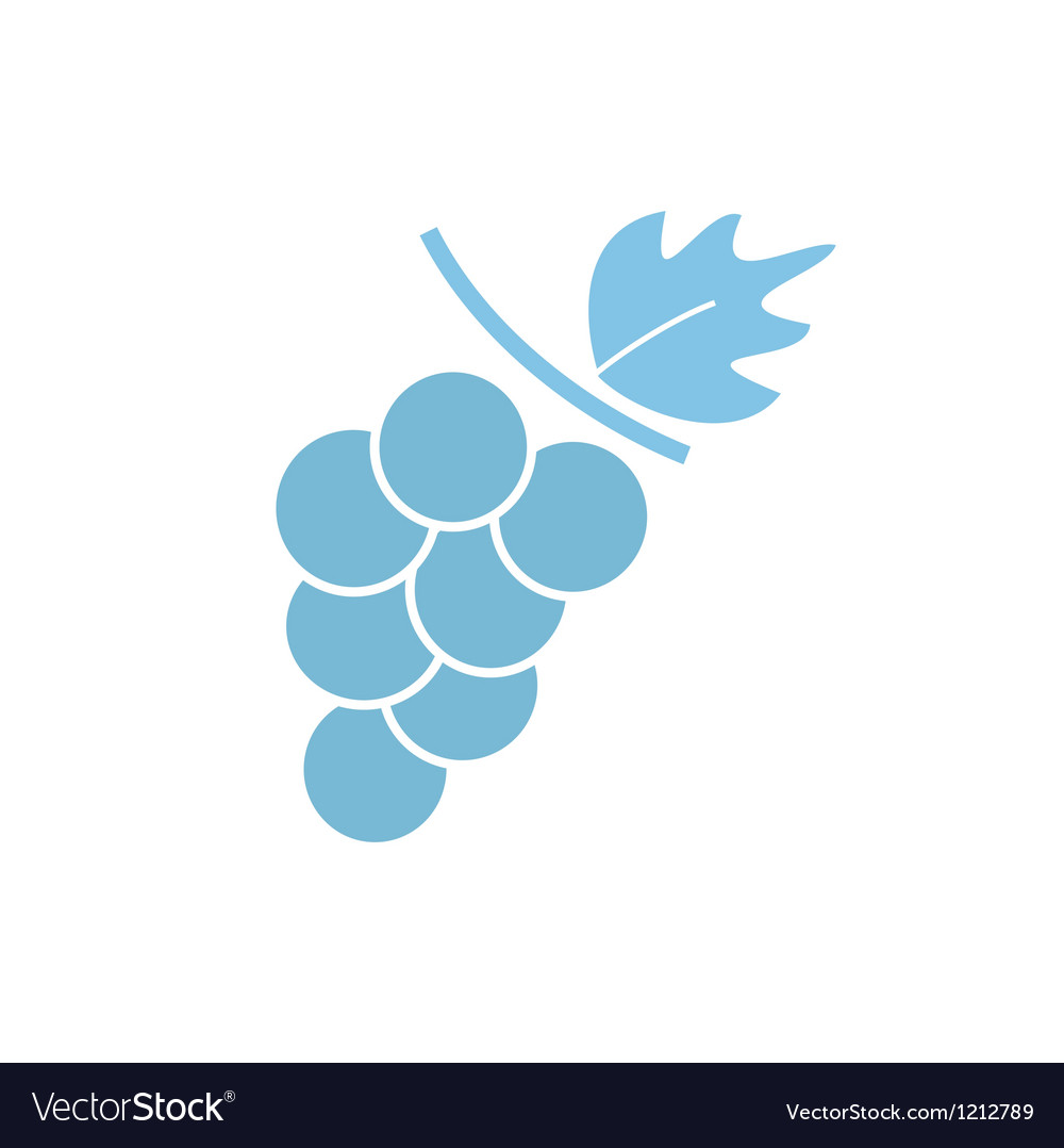 Grapevine sign vector | Price: 1 Credit (USD $1)