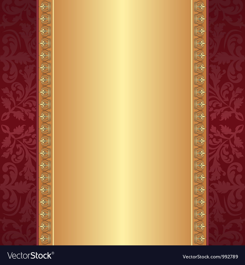 Maroon and gold background vector | Price: 1 Credit (USD $1)