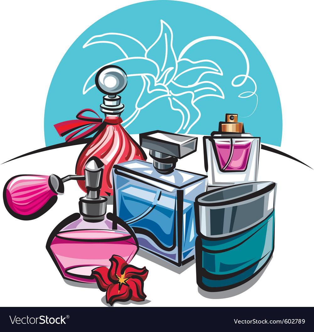 Perfumes vector | Price: 3 Credit (USD $3)