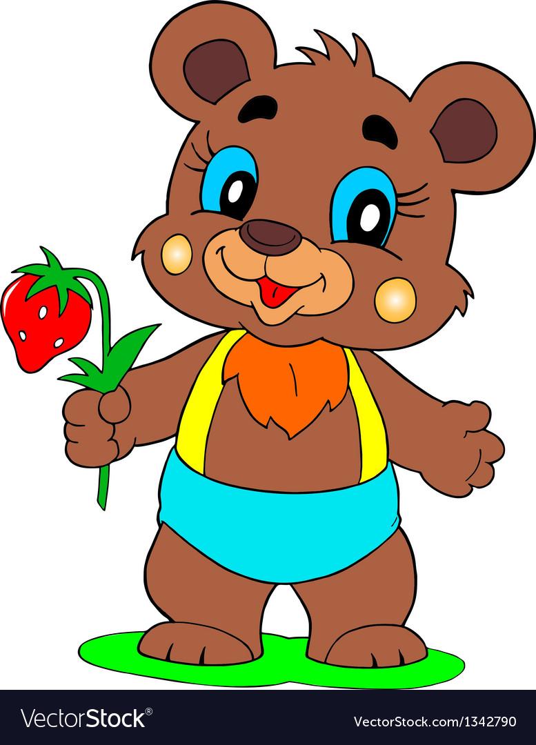 Bear vector | Price: 1 Credit (USD $1)