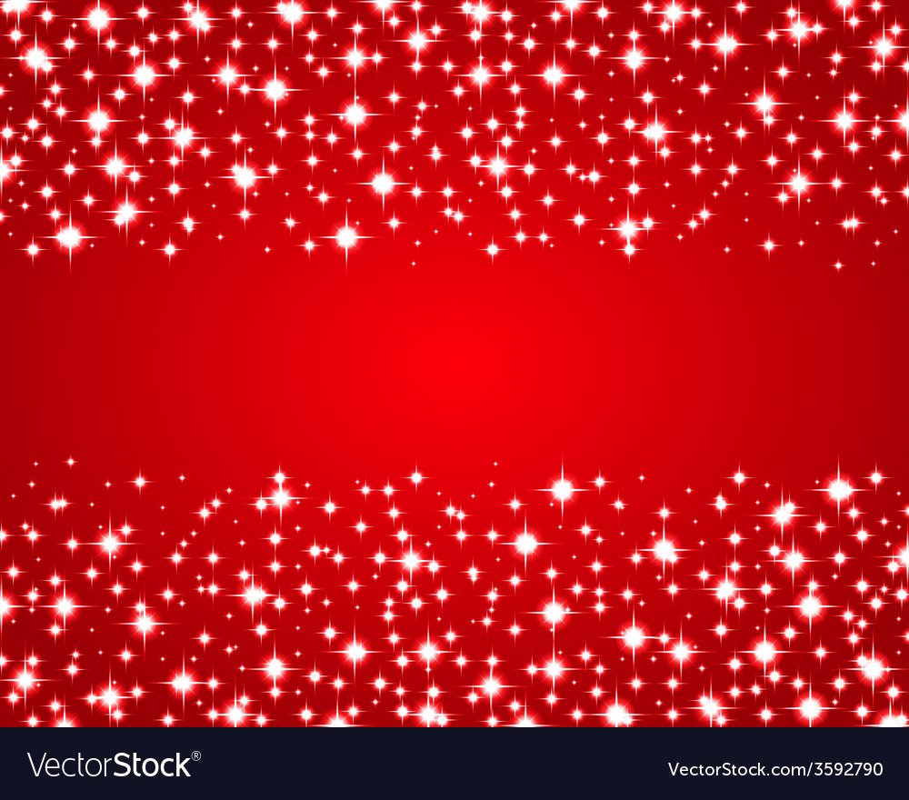 Christmas red shiny background vector | Price: 1 Credit (USD $1)