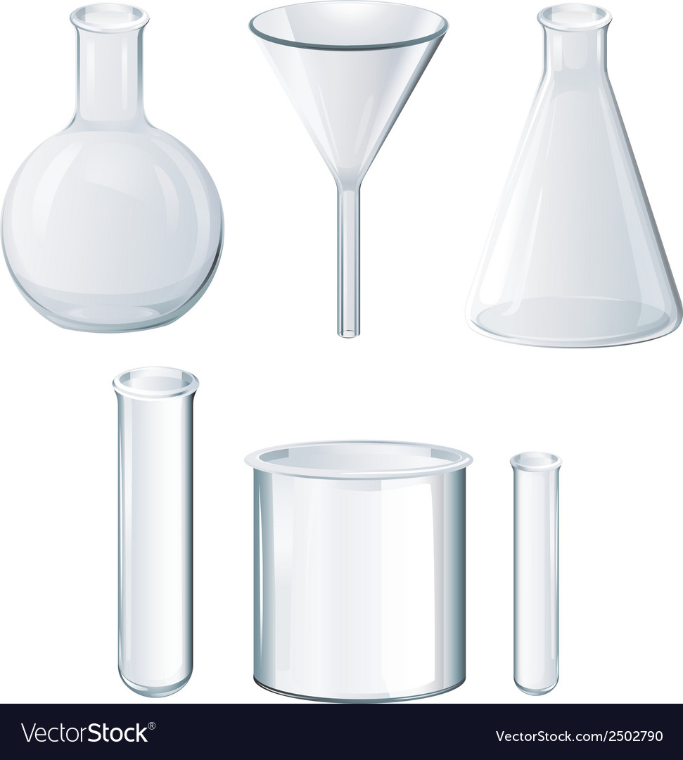 Different laboratory equipments vector | Price: 1 Credit (USD $1)