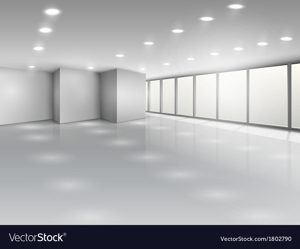 Light conference room or office open space vector | Price: 1 Credit (USD $1)