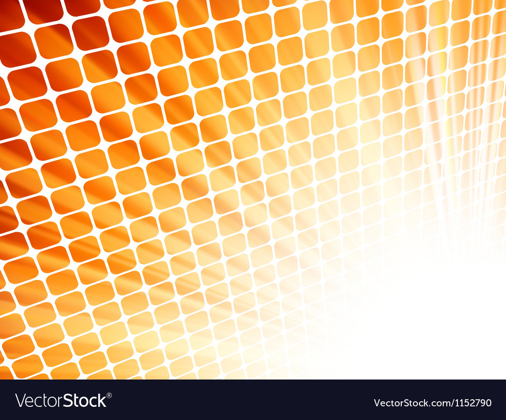 Red yellow rays light 3d mosaic eps 8 vector   Price: 1 Credit (USD $1)