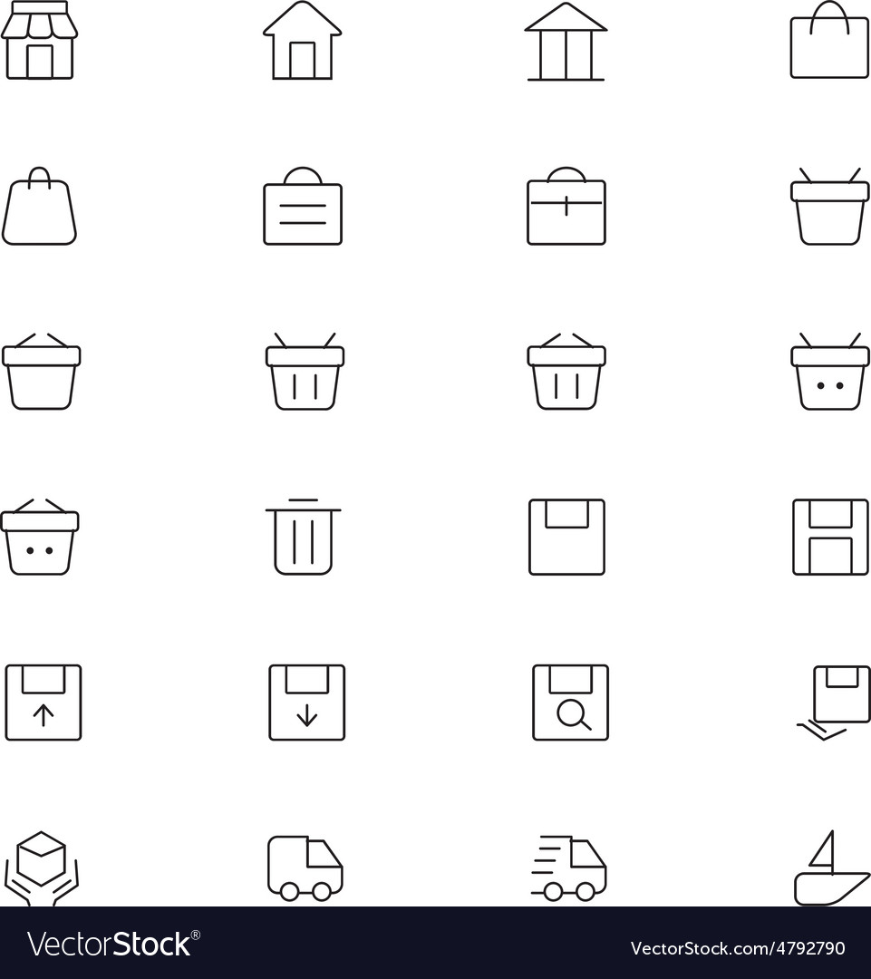 User interface icons 1 vector | Price: 1 Credit (USD $1)