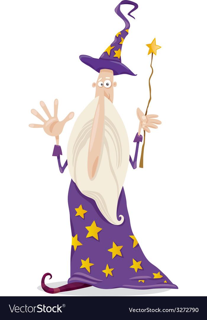 Wizard fantasy cartoon vector   Price: 1 Credit (USD $1)